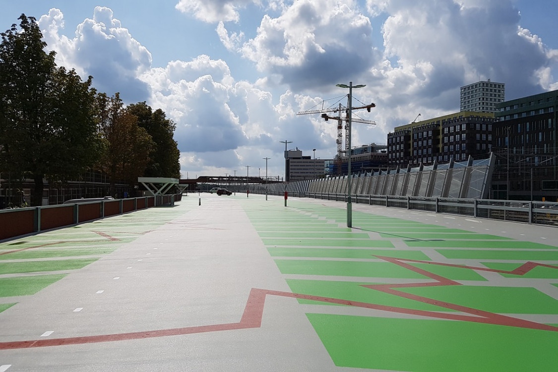Parkeergarage P+R Den Bosch